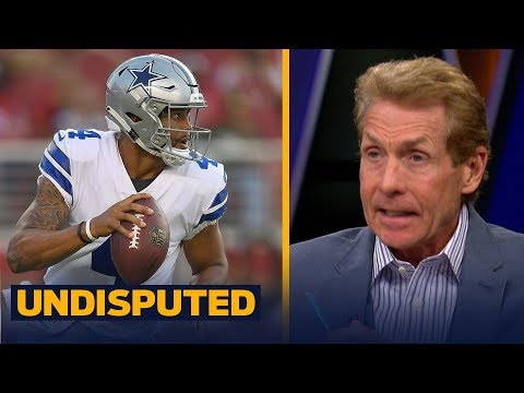 Skip and Shannon react to Garrett saying he's fine with Dak running in preseason | NFL | UNDISPUTED
