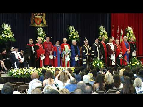 Spring Convocation 2017  – GOODMAN SCHOOL OF BUSINESS – 10 AM