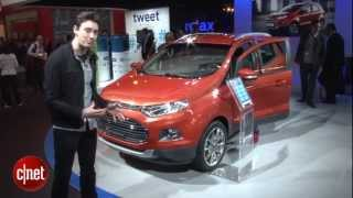 Ford EcoSport has voice-controlled Spotify tech in video