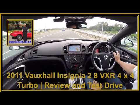 Virtual Video Test Drive in our Vauxhall Insignia 2 8 VXR 4 x 4 Turbo