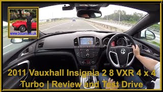Vauxhall Insignia VXR Supersport 2012 Videos