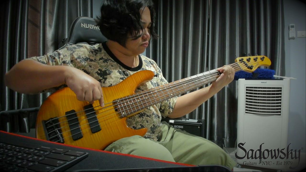 Sadowsky NYC Modern 5-24 #6653 (New Strings) by Keng-Bassist