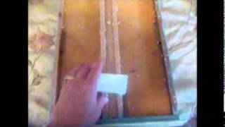 Lubricating Sticky Wooden Drawers With Wax - Lubricate Wood Drawer Runners