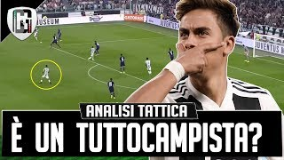 DYBALA È ATTACCANTE O TUTTOCAMPISTA? Analisi tattica Juventus