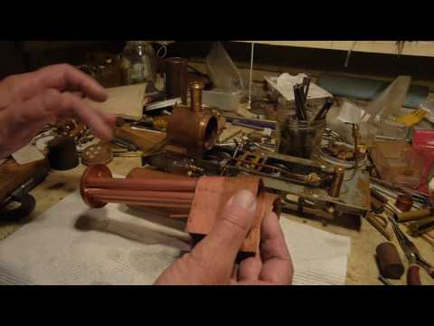 Boiler making for live steam model locos, Part 3