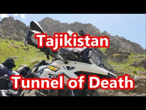"""7. Tadschikistan (1/3) """"Tunnel of Death"""", 1.200km, Motorradtour Zentralasien, FMT 2019"""