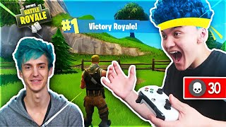 15 Year Old Kid Impersonates Ninja And Wins Fortnite...
