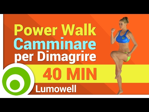 Camminare per Dimagrire a Casa - Power Walk