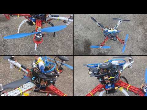 Autonomous Obstacle Avoiding Quadcopter Drone