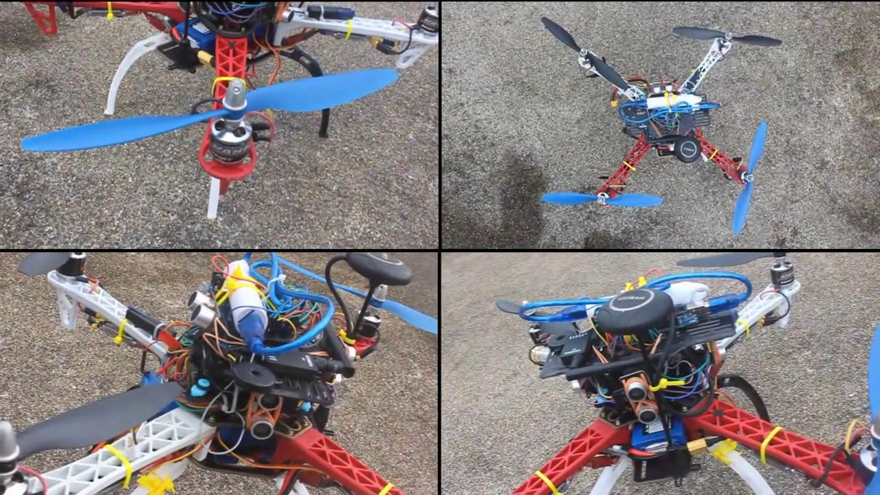 Autonomous Obstacle Avoiding Quadcopter Drone