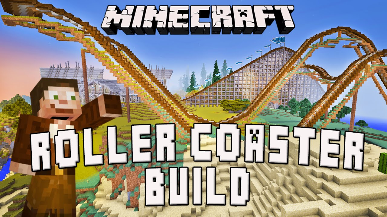 how to make roller coaster not stop in minecraft