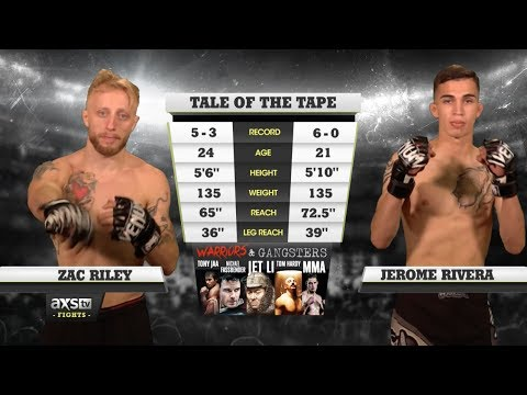 Fight of the Week: Jerome Rivera and Zac Riley Throwdown for All Three Rounds at LFA 10