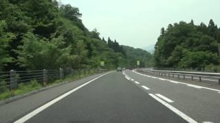 米子自動車道 落合JCT→米子JCT(→米子道路・米子西IC) 全線等速