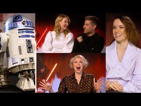 Star Wars Cast Sing Karaoke As Darth Vader & Take Trivia Test