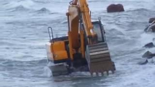 Excavator Russia the Baltic Sea - Экскаватор 1 Russia thumbnail