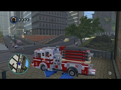 Lego Marvel Super Heroes All Emergency Vehicles In