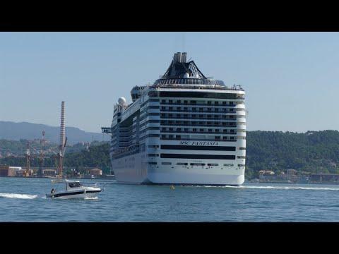 MSC Fantasia in La Spezia, Italy - 4K UHD