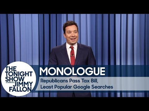 Download Youtube: Republicans Pass Tax Bill, Least Popular Google Searches - Monologue