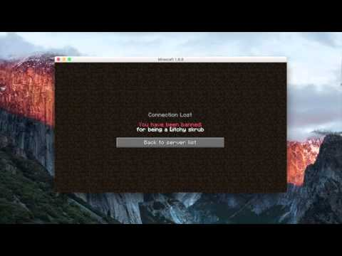 Mac/Windows || Minecraft ForceOP/Unban Tool Pro || 1.9.X 1.8.X  || [Working]