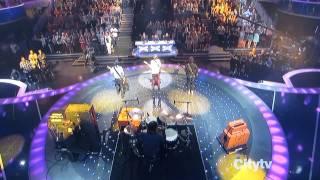 Hot Chelle Rae (Tonight Tonight) Live On America's Got Talent