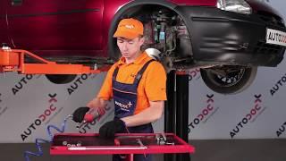 Jak wymienić końcówkę drążka kierowniczego w OPEL CORSA B TUTORIAL | AUTODOC