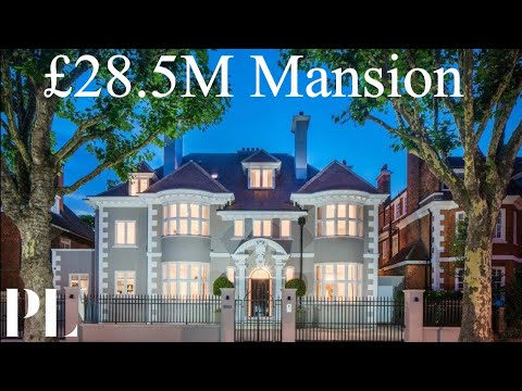 £28.5m Primrose Hill Luxury London Mansion | UK House Tour | Property London