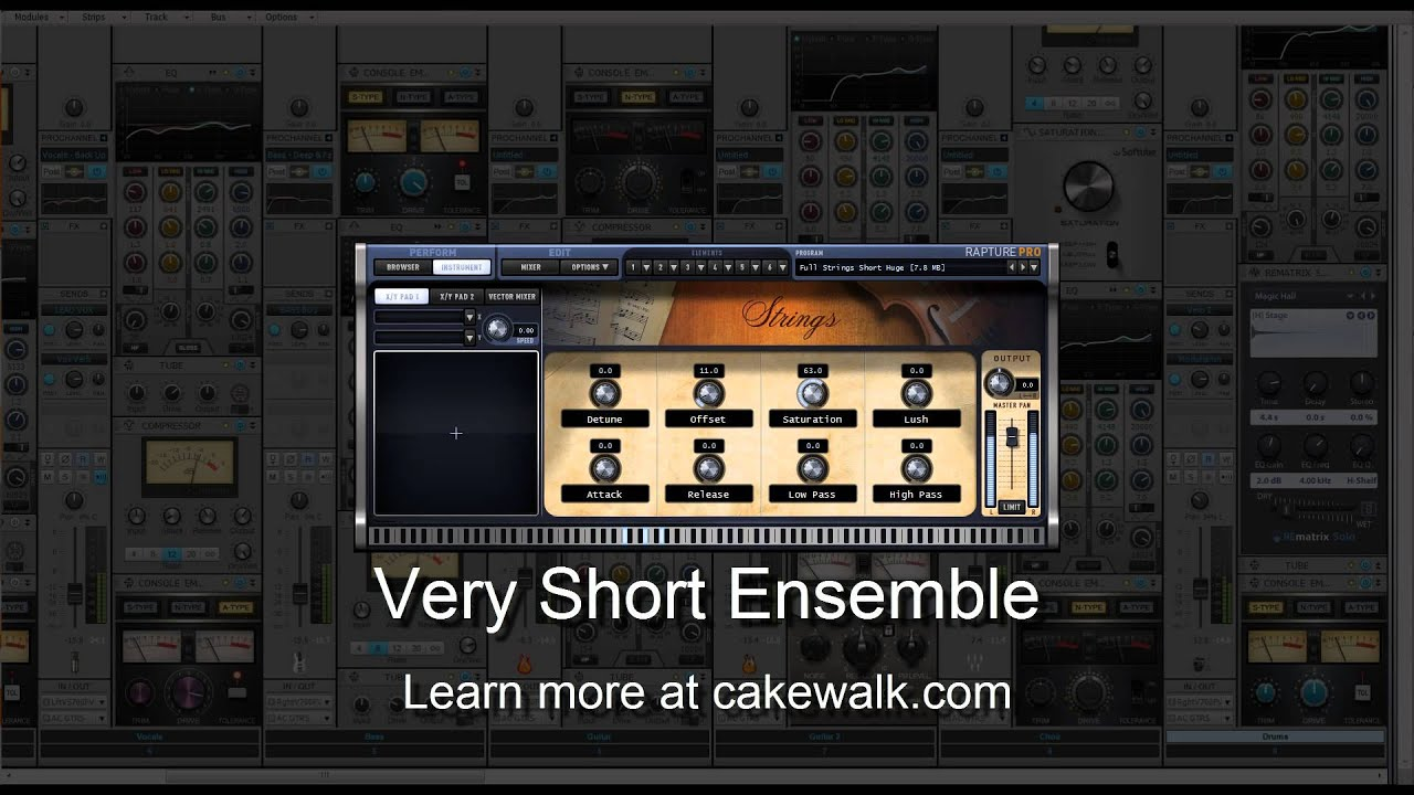 cakewalk rapture session youtube