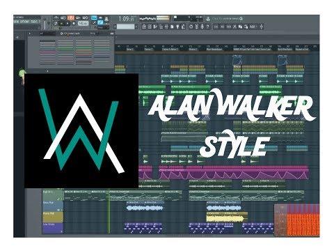 Alan Walker Style FLP (Very Simple One)