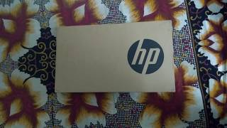 HP BU006TU Unboxing and Specifications