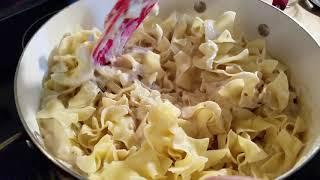 Making my Seafood Casserole