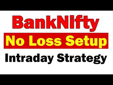 Banknifty Intraday Profit Strategy No Loss trade setup (in Hindi) - sharmastocks.com