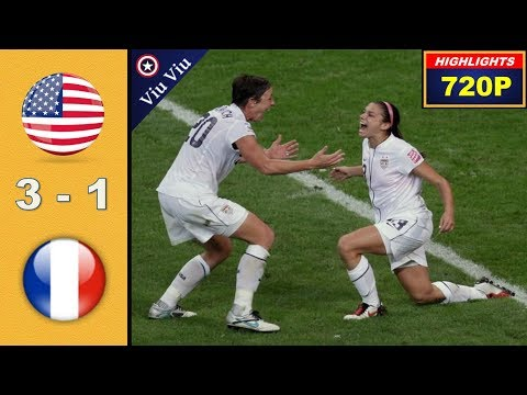 [ Semi - Final ] USA vs France 3-1 All Goals & Highlights | 2011 WWC