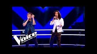 MC Solaar - Sonotone | Geoffrey et Arezki | The Voice 2019 | Battle Audition