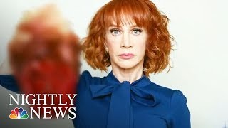 First Lady, President Donald Trump, CNN Respond To Kathy Griffin Beheading Photo | NBC Nightly News