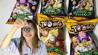 Bóc Bánh Toonies Đổi Thẻ Đánh Thức Rồng Thần Cùng Chị Gái Mưa