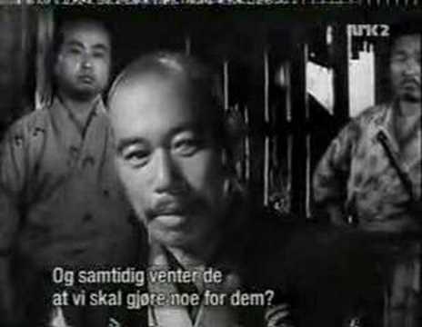 Det Garvede - De syv samuraier