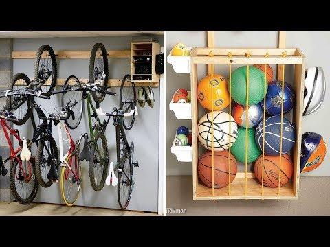 10 DIY Garage Organization And Storage Ideas