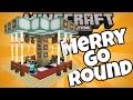 Cara membuat Komidi Putar Merry go Round di MCPE Tanpa Mod Minecraft Pocket Edition