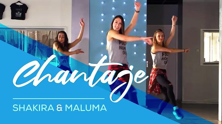 chantaje  shakira ft maluma  easy fitness dance video  choreography