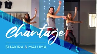 Chantaje Shakira ft Maluma Easy Fitness Dance Choreography Saskia