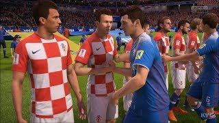 2018 FIFA World Cup Russia - Iceland vs Croatia - Gameplay (HD) [1080p60FPS]