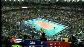 Cuba x Brasil   Final do Mundial de Vôlei Masculino 2010 parte 5