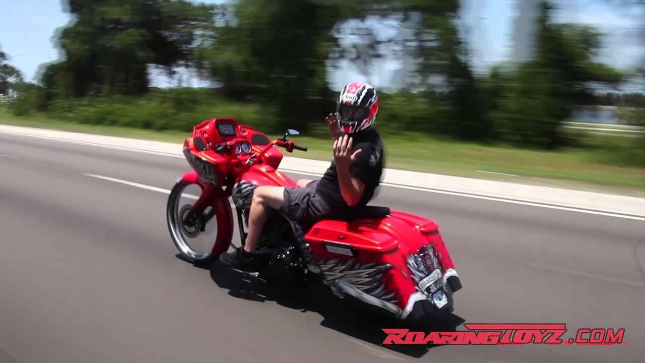 Custom Harley Roadglide Bagger 26 Front Wheel