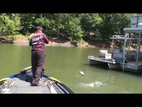 pesca black bass fishing lake wylie youtube. Black Bedroom Furniture Sets. Home Design Ideas