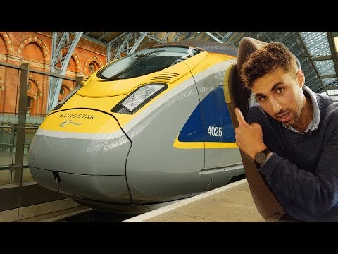 Eurostar unveils brand new train on London to Brussels route | CNBC Reports