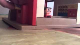 McDonalds Playskool 1974 Familiar Places Tray Return