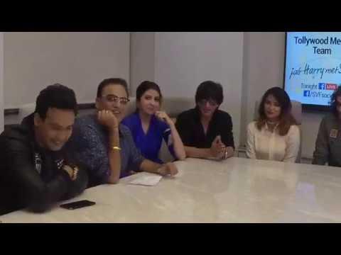 Shah Rukh Khan, Anushka & Imtiaz Ali on intervew with SVF in Kolkata for JHMS