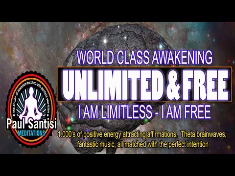 3D SOUND 1000s Of Positive Affirmations Meditation Awaken Energy Vibration Luck Health Paul Santisi