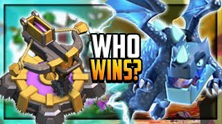 WHO WINS? Clash of Clans PROS WAGE EPIC BATTLES - 99 or 100?