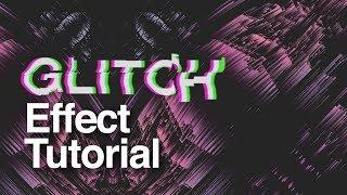 Glitch/Farb-Split-Effekt - How, um es zu erstellen - After Effects Tutorial